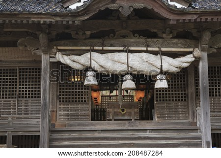 An Image of Jokami Shrine - stock photo