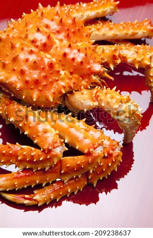An Image of King Crab
