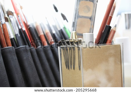 An Image of Make-Up Tools