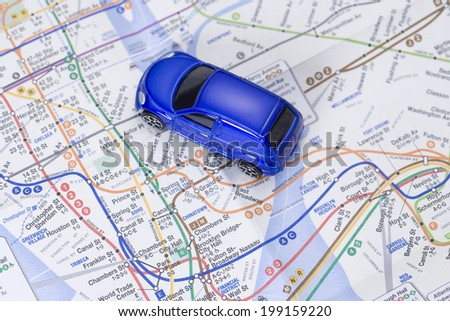 An Image of Minicar - stock photo