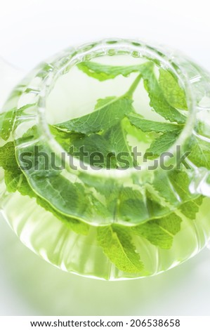 An Image of Mint Tea