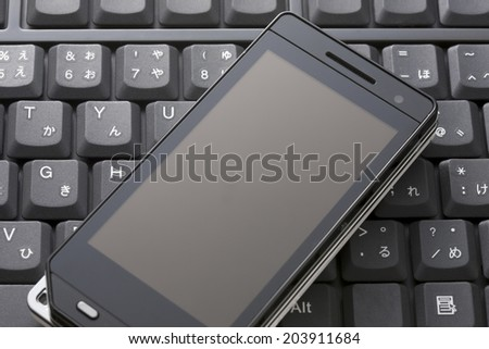 An Image of Mobile Phone