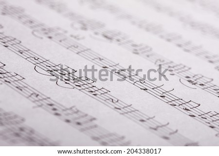 An Image of Music