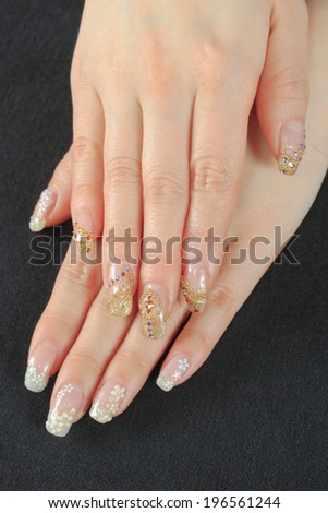 An image of Nail art