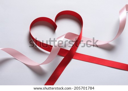 An Image of Ribbon Of Heart