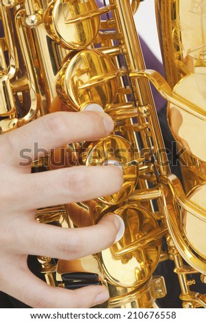 An Image of Saxophone