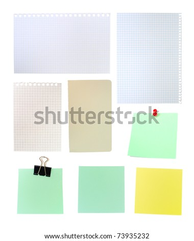 An image of set of pages of paper