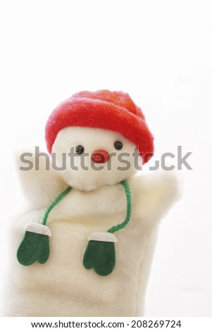 An Image of Snowman Doll