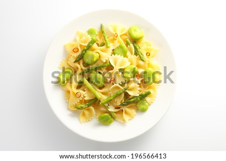 An image of Spring vegetables