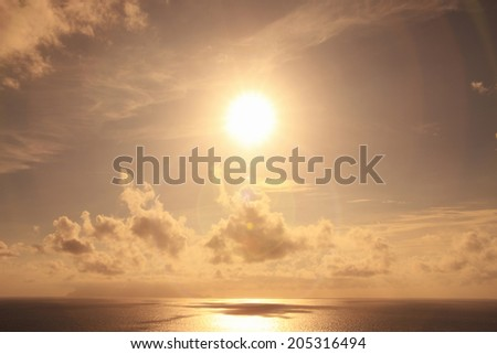 An Image of Sun And Sea