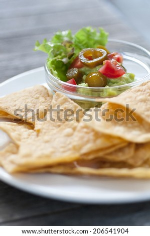An Image of Taco Chips