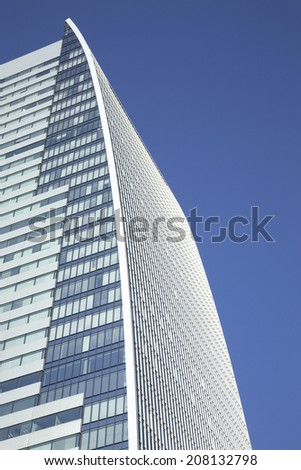 An image of Tall Building - stock photo