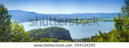 An image of the Forchensee in Bavaria Germany