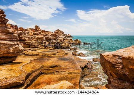 An image of the nice landscape of Broome Australia - stock photo