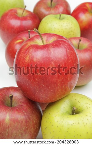 An Image of Three Apples