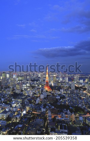 An Image of Tokyo Tower