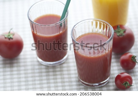 An Image of Tomato Juice