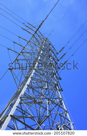 An Image of Transmission Line