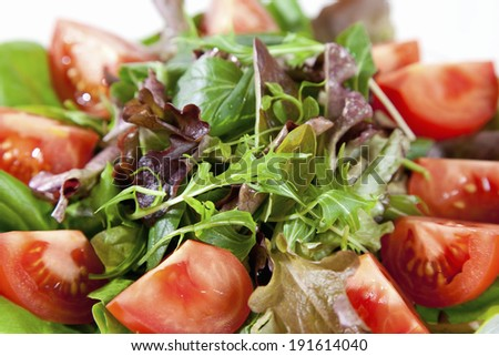 An image of Vegetable salad