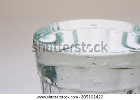 An Image of Water And Glass