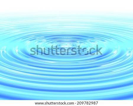 An Image of Water Ripples