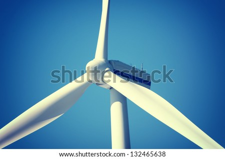 An image of windturbine generator - stock photo