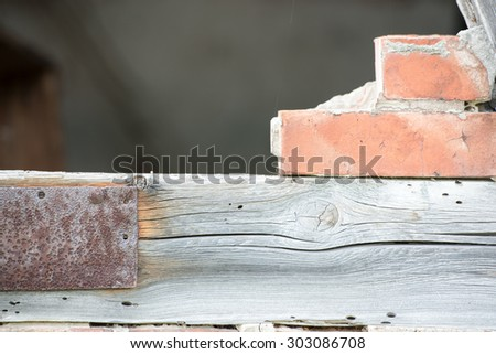 An image of wood wall background - stock photo