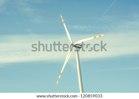 An imagr of Windturbine generator