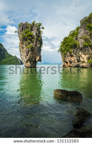 An island in phang nga bay which many year ago was filmed name James bond 007