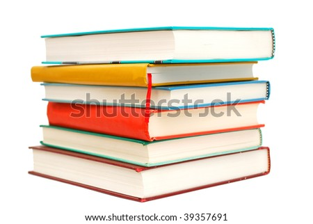 An isolated textbooks