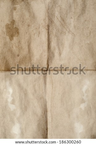 an old blank for background - stock photo