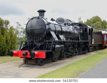 an old engine - stock photo