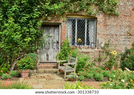 An old English country cottage in Kent,
