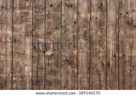 An old wooden wall