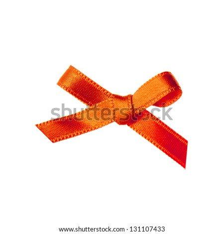 an orange bow, the symbol of the coronation on the 30th of april 2013
