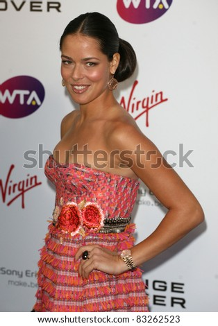 Ana Ivanovic arriving for the Pre Wimbledon Party, Kensington Roof Gardens, London. 16/07/2011  Picture by: Alexandra Glen / Featureflash - stock photo