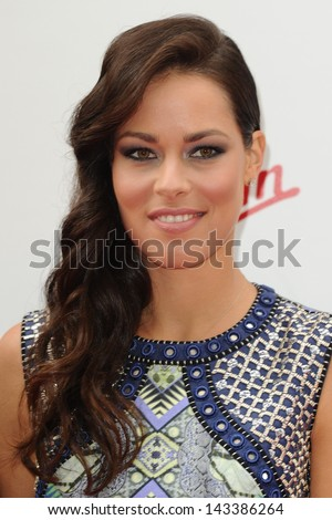 Ana Ivanovic arriving for the WTA Pre-Wimbledon Party 2013 at the Kensington Roof Gardens, London. 20/06/2013 - stock photo