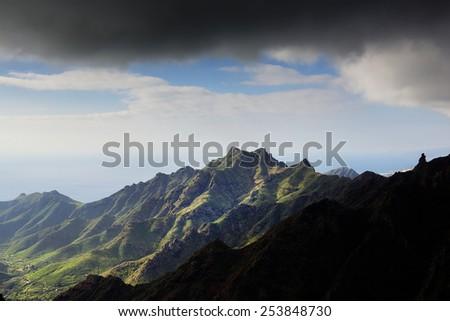 Anaga Mountains, Tenerife, Spain, Europe - stock photo