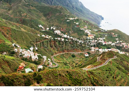 Anaga Mountains, Tenerife, Spain, Europe - stock photo