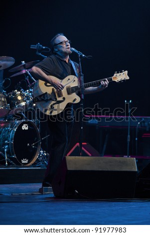ANAHEIM, CA - NOVEMBER 22: Musician Stephen Stills performs at The Grove Theater on November 22, 2011 in Anaheim, California.