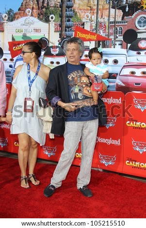 "ANAHEIM - JUN 13:  Cesar Bono arrives at the ""Cars Land"" Grand Opening  at California Adventure on June 13, 2012 in Anaheim, CA"