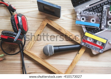 Analog equipment for recording