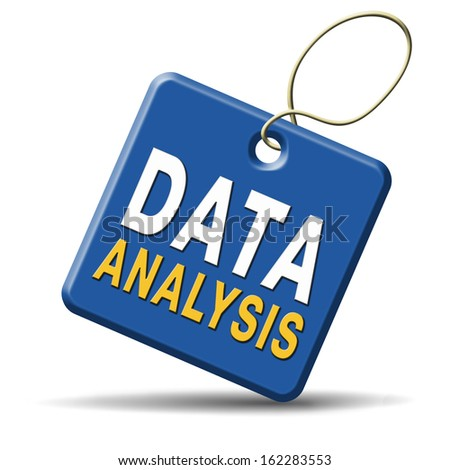 Analyse data and research business statistics and web analysis of cart or graphic