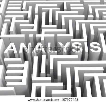 Analysis Word Shows Investigation Analyzing Or Research