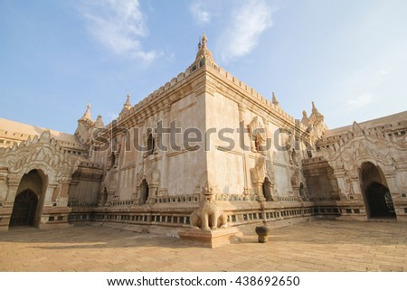 Ananda Temple, Bagan, Myanmar - stock photo