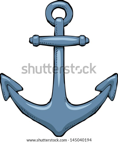 Anchor on a white background raster version