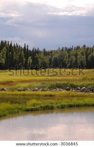 Anchorage Alaska - stock photo