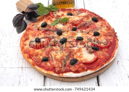 anchovy pizza homemade