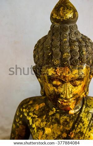 Ancient Buddha, Ayutthaya, Thailand - stock photo