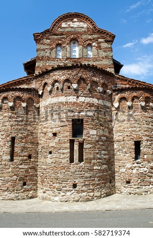 Ancient city in Bulgaria Church of Christ